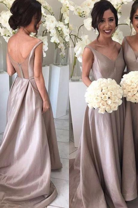 2018 New Arrival A-line Prom Dress,Evening Dress,Bridesmaid Dress,Prom Dress, High Quality