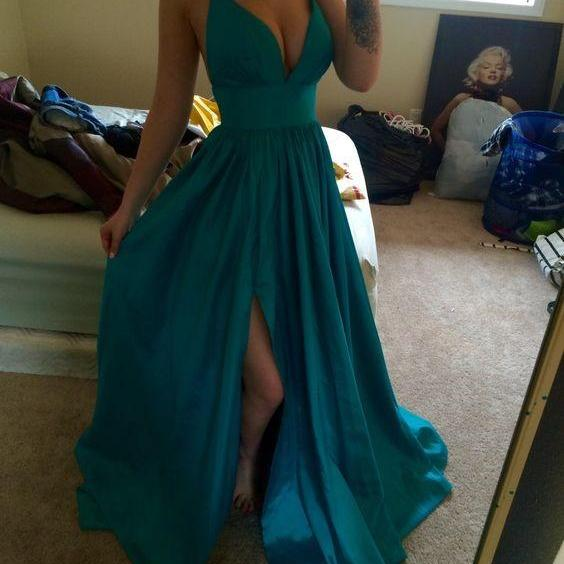 Prom Dress, Sexy Prom Dresses, Sleeveless Prom Dresses, Long Prom Dress, Evening Formal Dress